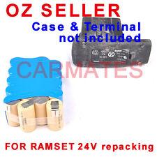 Battery Rebuild Pack For Ramset C 24V Dyna DD528 3.0Ah Ni-MH DD528BP17 DD52BP30