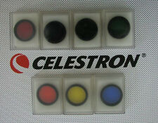 7 Celestron telescope color filters (Filter Astronomy)