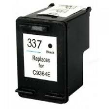 HP 337 C9364EE Black Refilled Ink Cart HP Deskjet 5940 5943 6940 6940dt 6980