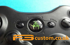 Custom XBOX 360 * Toxic Logo * Guide button