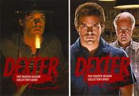 Dexter Season 4 Trading Cards ~ MINI-MASTER SET (Base, Inserts, Promos 2 & 3)