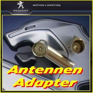 Antennenadapter zur Anpassung aktuelle Verkabelung auf ältere DIN-Radios