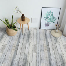 Grey Wood Tile Floor Ground Stair Sticker Self-adhesive Bath Kitchen Wall 20x300