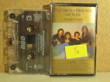 Brotherhood of Man-20 Great Hits The Best/Greatest CASSETTE TAPE 1990 Eurovision