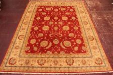 Tapis rouge modernes pour la maison en 100% laine