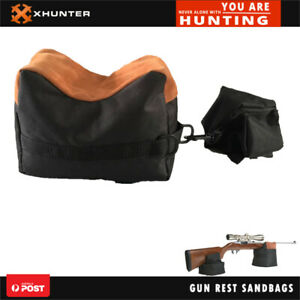 Xhunter Fibre Gun Rest Shooting Sand Bag Black