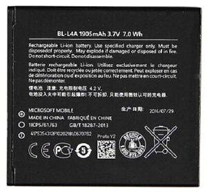 Original Nokia Lumia 535 540 Akku BL-L4A Microsoft Batterie Battery 1905mAh NEU