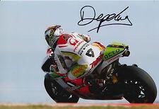Danilo Petrucci Hand Signed Pramac Ducati 12x8 Photo 2015 MotoGP 3.