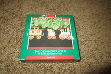 HALLMARK Keepsake Ornament The Ornament Express (Set of 3) 1989 No. QX580-5