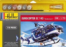 "HELLER 50378 EUROCOPTER EC 145 ""Gendarmerie"". 1/72 Kit complet avec accessoires."