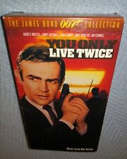 JAMES BOND, YOU ONLY LIVE TWICE, VHS play tested, LETTERBOX, Sean Connery