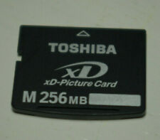 Toshiba 256mb type M XD Picture card original fully compatible