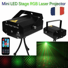 R&G LED Laser Projecteur Éclairage de scène DJ Disco Party Lampe Télécommande FR