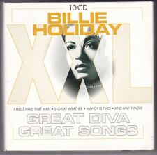 BILLIE HOLIDAY-XXL GREAT DIVA-GREAT SONGS 10 CD BOX RAR!