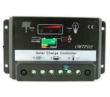 10A MPPT Solar Panel Battery Regulator Charge Controller 12V/24V Auto Switch TEC