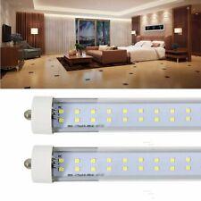 10-Pack 65W T8 8FT Single Pin FA8 LED Tube Light LED Shop Light Brightness Bulb