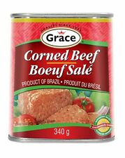 6 Pack Grace Corned Beef 340g Each - From Canada - FRESH & DELICIOUS!