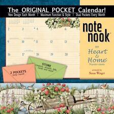 2019 Heart & Home Pocket Wall Calendar, Susan Winget by Wells Street by LANG