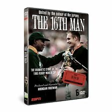 THE 16TH MAN THE STORY OF THE 1995 RUGBY WORLD CUP DVD NEW SOUTH AFRICA