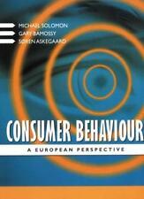 Consumer Behaviour: A European Perspective,Michael R. Solomon, Gary Bamossy, Pr