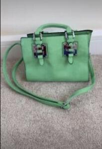 Womens Green Handbag