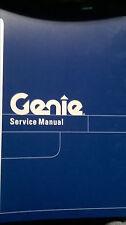 Genie GS-30 GS-32 GS-46 SERVICE SHOP MANUAL SCISSOR PLATFORM MAN LIFT Gd 96316