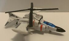 SUPER GOBOTS RAIZOR HELICOPTER JET BY BANDAI 1985 TRANSFORMING ROBOTS incomplete