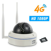 1080P IP Camera 4G Wireless IP Camera IR-CUT Night Vision 3G GSM Outdoor Y1F3