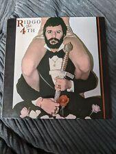 New listing RARE RINGO STARR LP RINGO THE 4TH POLYDOR NEAR MINT ℗1977 Wibble Records Ltd.