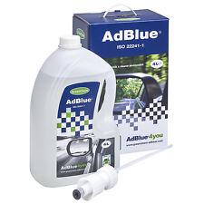 Greenchem AdBlue 4 Litre Starter Kit Non Drip Spout Fuel Additive Treatment 4L