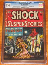 SHOCK SUSPENSTORIES #6 CGC 7.0 1952 EC COMICS Classic Pre-Code Bondage Cvr NICE!