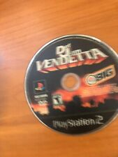 Def Jam Vendetta (Sony PlayStation 2, 2003) PS2, Black Label, Tested, Disc ONLY