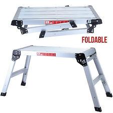 Drywall Step Up Folding Bench Stool Ladder Platform Aluminum Height off Ground