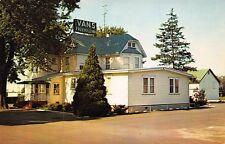 VTG 1960 POSTCARD VANS RESTAURANT FREEHOLD NEW JERSEY NJ / B11