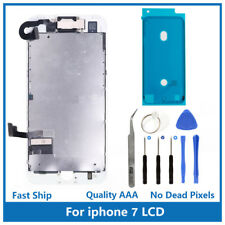 iPhone 7 Full Screen Replacement LCD Shield Plate Front Camera Ear Speaker Tools