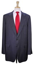 * GUCCI * Custom Made for KOBE BRYANT Gray Herringbone 2-Btn Wool Suit 48XL