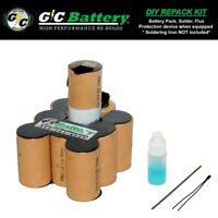 Porter Cable 12 Volt 8620 Battery DIY REPACK KIT | Tenergy 2.2Ah NiCd