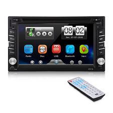 "2 DIN 6.2"" Touch Screen Autoradio Bluetooth DVD GPS SAT NAV Stereo MP5 Lettore"