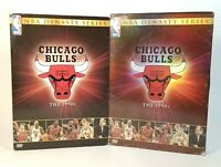 NBA Dynasty Series - Chicago Bulls: The 1990s (DVD, 2004, 4-Disc Set) VGC Tested