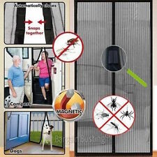 Magnetic Fastening Magic Curtain Hands Free Fly Bug Insect Screen Door Mesh