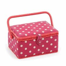 Hobby Gift Sewing Box M Rectangle Red Spot, Medium