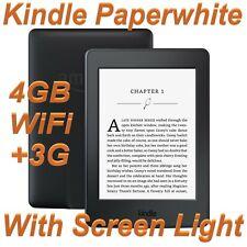 Amazon Kindle Paperwhite 7th Gen 4GB Wi-Fi + 3G Black Grade C - #038