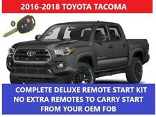 Fits:Toyota Tacoma H-KEY Plug & Play Remote Start Complete Kit 2016 2017 2018