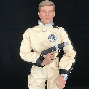 """James Bond 007 Action Figure Roger Moore Moonraker Sideshow 12"""" Toy 1/6 Scale"""