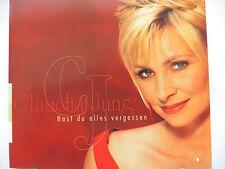 Claudia Jung   Hast Du alles vergessen   Promo Maxi - CD   1 Track   2001 rar!