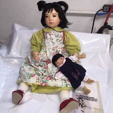Elisa Glassgold - LIANNA - Asian Doll - Resin Collectible Doll w/Companion Doll