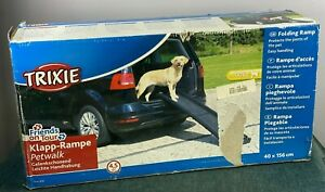 Trixie Friends On Tour Klapp-Rampe Petwalk Dog Ramp In Box 4.5kg 40x156cm