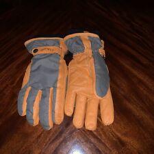ORVIS Deerskin leather Gloves OLBRN size L