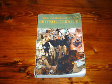 BRITISH LITERATURE :  THE LONGMAN ANTHOLOGY - SECOND EDITION ISBN 0321202392