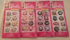 BARBIE Liquid Stickers 2010 4 Packs 8 Assorted Stickers in Package NEW